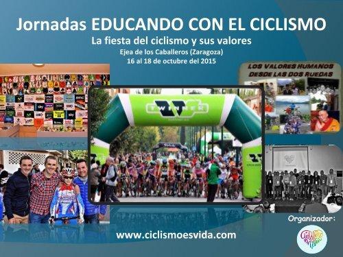 Jornadas EDUCANDO CON EL CICLISMO