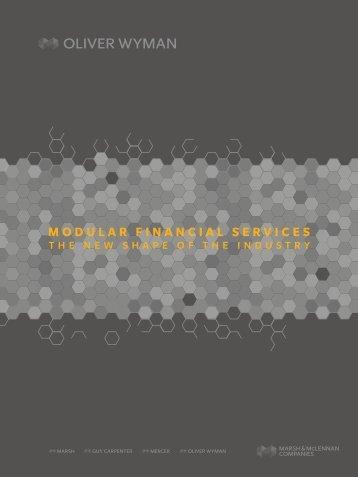 MODULAR FINANCIAL SERVICES