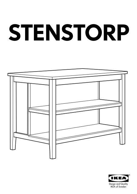 Ikea Stenstorp Amp Icirc Lot Pour Cuisine 00116996 Plan