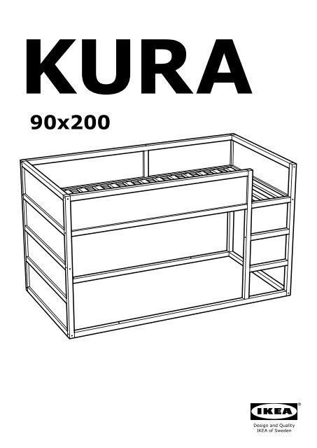 Ikea Kura Lit R Eacute Versible 80253809 Plan S De Montage