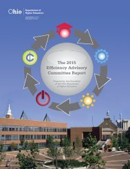 The 2015 Efficiency Advisory Committee Report