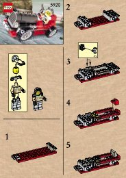 Lego Island Racer - 5920 (2000) - RULER OF THE JUNGLE BUILD. INSTR. FOR 5920