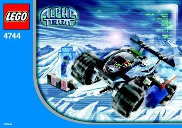 Lego Tundra Tracker - 4744 (2004) - Chill Speeder BI, 4744