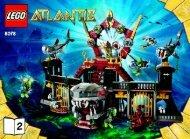 Lego Portal of Atlantis - 8078 (2010) - Typhoon Turbo Sub BI 3006/80+4 - 8078 V 39 2/2