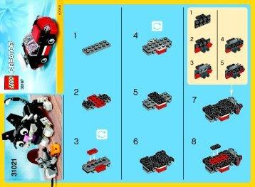 Lego Fast Car - 30187 (2014) - Little Car BI 2002/ 2 , 30187, V29