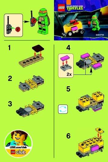 Lego Mikey's Mini-Shellraiser - 30271 (2014) - Worriz' Fire Bike BI 2001/ 2 - 30271 V29