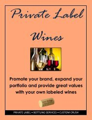 Private Label at ORWS