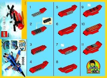 Lego Little Helicopter - 30184 (2013) - Little Car BI 2002/ 2 - 30184 V29
