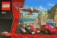Lego World Grand Prix Racing Rivalry - 8423 (2011) - CARS 1 BI 3002/48 - 8423 V.29