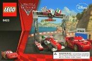 Lego World Grand Prix Racing Rivalry - 8423 (2011) - CARS 1 BI 3002/48 - 8423 V.39