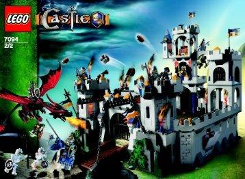 Lego King's Castle Siege - 7094 (2007) - King's Battle Chariot BI 2/2, 7094