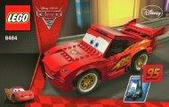 Lego Ultimate Build Lightning McQueen - 8484 (2011) - CARS 1 BI 3004/80+4 - 8484 V.39
