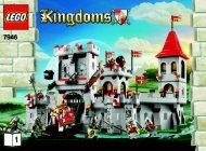 Lego King's Castle - 7946 (2010) - Mill Village Raid BI 3006/80+4 - 7946 V29 1/3