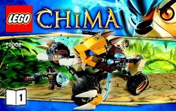 Lego Lennox's Lion Attack - 70002 (2013) - Chima Value Pack BI 3004/40 - 70002 V29/39 1/2