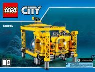 Lego Deep Sea Operation Base - 60096 (2015) - Deep Sea Scuba Scooter BI 3019/52-65G - 60096 V39 5/5