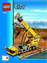 Lego Construction Site - 7633 (2008) - Crawler Crane BUILD INSTR 3006, 7633 4/4