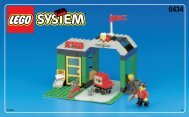 Lego ROADSIDE REPAIR - 6434 (1999) - Tow-away Truck BUIL.INST.6434 BUILDING 1W.1/6