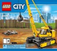 Lego Demolition Site - 60076 (2015) - Demolition Starter Set BI 3017/80+4-65/115G, 60076 V39 3/4