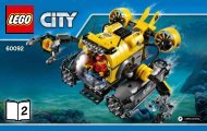 Lego Deep Sea Submarine - 60092 (2015) - Deep Sea Scuba Scooter BI 3004/80+4, 60092 V29 2/2