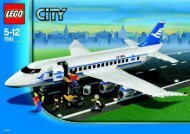 Lego Passenger Plane & Airport Firetru - 66166 (2006) - Helicopter and Limousine BI, 7893 IN