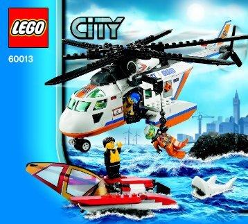 Lego Coast Guard Helicopter - 60013 (2013) - Coast Guard Platform BI 3017 / 80+4 - 65/115g 60013 V29