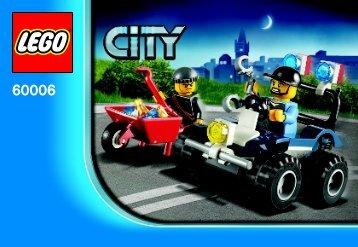 Lego Police ATV - 60006 (2012) - Police Dog Van BI 3001/20 -  60006 V29