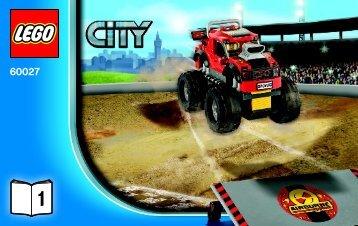 Lego Monster Truck Transporter - 60027 (2013) - Ambulance BI 3004/48 - 60027 V29 1/2