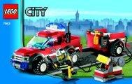 Lego Off Road Fire Rescue - 7942 (2006) - Fire Boat BI 3004/24 - 7942 V.29