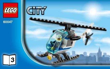 Lego Police Station - 60047 (2014) - Police Patrol BI 3004/28 60047 3/6 V29