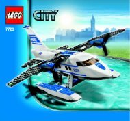 Lego Police Pontoon Plane - 7723 (2008) - Police Minifigure Collection BUILD. INSTR 3005, 7723 1/1 IN