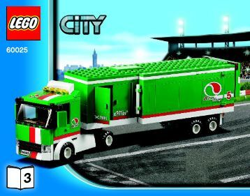 Lego Grand Prix Truck - 60025 (2013) - Ambulance BI 3018/76+4-65+115G, 60025 V29 3/3