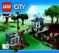 Lego Swamp Police Station - 60069 (2015) - Police Patrol BI 3017 / 60+4 - 65/115g - 60069 v29 5/6