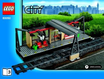 Lego CITY Train Value Pack - 66493 (2014) - Train - 7895-7896-7897 BI 3019/56-65G 60050 3/3 V29