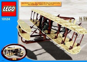Lego Wright Flyer - 10124 (2003) - USS Constellation (398) BI 10124