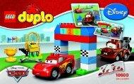 Lego Disney Pixar Cars™ Classic Race - 10600 (2015) - Disney Pixar Cars™ Classic Race BI 3004/12/65g 10600 V39