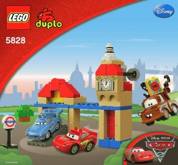 Lego Big Bentley - 5828 (2011) - Disney Pixar Cars™ Classic Race BI 3005/16 GLUED-5828 V29/V39