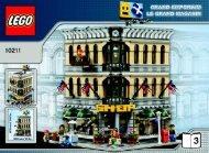 Lego Grand Emporium - 10211 (2010) - Build the breathtaking Taj Mahal! BI 3006/60+4 -10211 V46/39 3/3