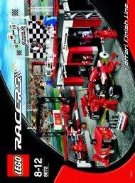 Lego Ferrari Finish Line - 8672 (2006) - Enzo Ferrari BI 8672 IN
