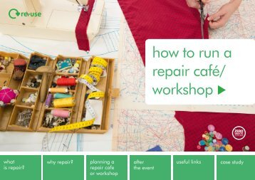 how to run a repair café/ workshop