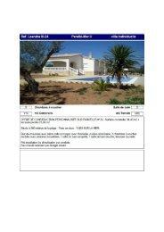 Page 1 Ref. Leandra lll-24 Perellń-Mar Il villa individuelle Salle de ...