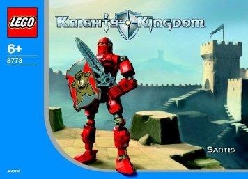 Lego Knights Kingdom 8771/8773 - 65412 (2003) - Knights Kingdom 8771/8773 BI, 8773