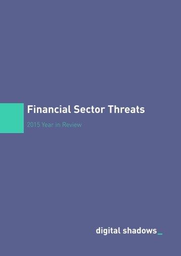 Financial Sector Threats