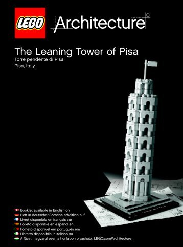 Lego The Leaning Tower of Pisa - 21015 (2013) - Robie™ House BI 3022/96+4/115+150G 21015 V.29