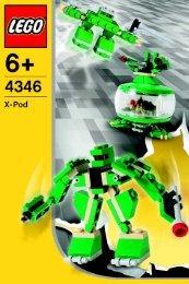 Lego Robots - 4346 (2004) - Wild Collection BI, 4346