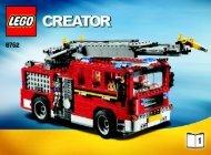 Lego Fire Rescue - 6752 (2009) - Mini Off-roader BI 3006/80+4 - 6752 1/3