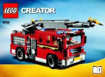 Lego Fire Rescue - 6752 (2009) - Mini Off-roader BI 3006/80+4 - 6752 1/3