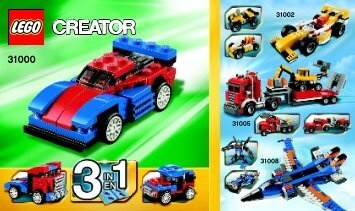 Lego Mini Speeder - 31000 (2012) - Year of the snake BI Creator 148x88 - 24, 31000 V39