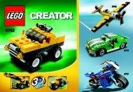Lego Mini Off-roader - 6742 (2009) - Mini Off-roader BI 3001/24 - 6742