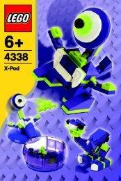 Lego Monster Pod - 4338 (2005) - Wild Collection BI, 4338