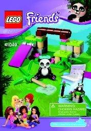 Lego Panda's Bamboo - 41049 (2014) - Turtle's Little Paradise BI 3001/20 - 41049 V39